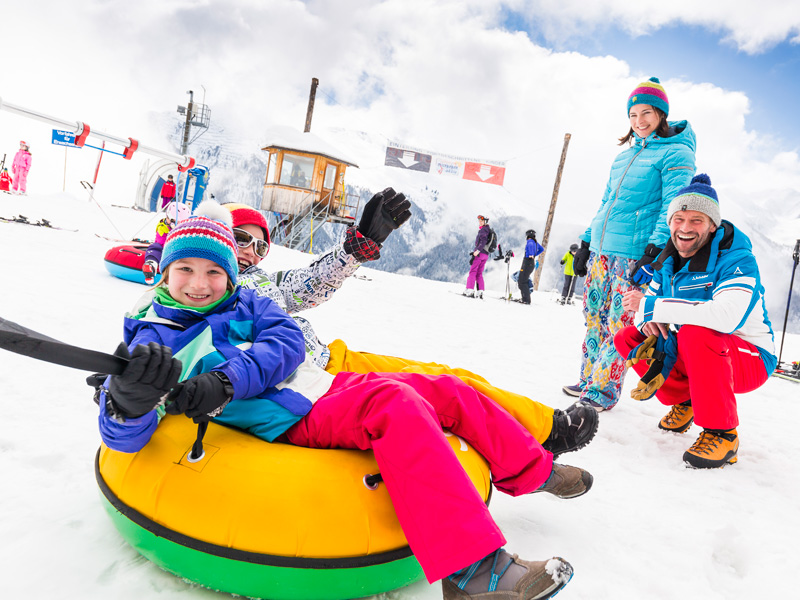 Rodeln, Winterwanden, Skitouren & Co. in Wagrain-Kleinarl